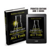 Printed Book and E-book of The Most Important Health Discovery of All Time